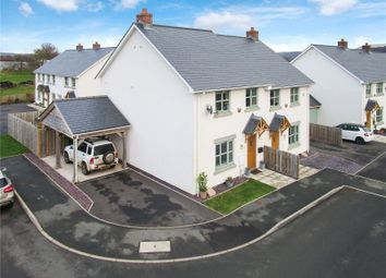 Thumbnail 3 bed semi-detached house for sale in Orchard Close, Bronllys, Brecon, Powys