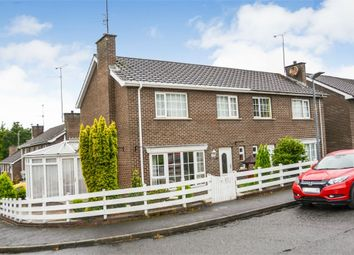 Thumbnail 3 bed semi-detached house for sale in Kensington Park, Portadown, Craigavon, County Armagh