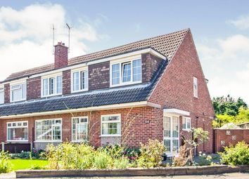 Thumbnail 4 bed semi-detached house for sale in Wyndale Drive, Ilkeston, Derbyshire