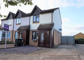 Thumbnail 2 bed end terrace house for sale in Betjeman Close, Aylesford