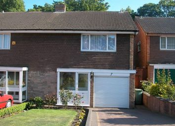 Thumbnail 3 bed semi-detached house for sale in Emery Close, Walsall
