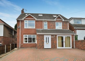 Thumbnail 6 bed detached house for sale in Heanor Road, Codnor, Ripley