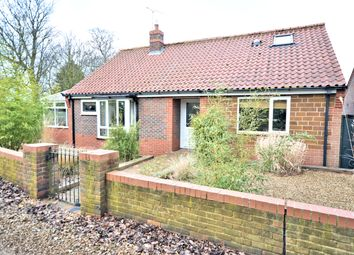 Thumbnail 3 bed detached bungalow for sale in Hall Close, Heacham, King's Lynn