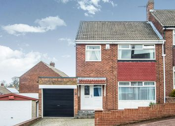 Thumbnail 3 bed semi-detached house for sale in Alexandra Drive, Swalwell, Newcastle Upon Tyne