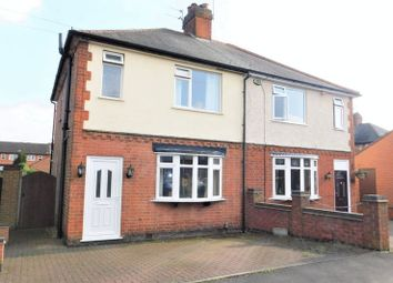 Thumbnail 3 bed semi-detached house for sale in Park Avenue, Shepshed, Loughborough
