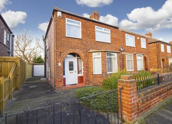 Thumbnail 3 bed semi-detached house for sale in Brunswick Avenue, Teesville, Middlesbrough
