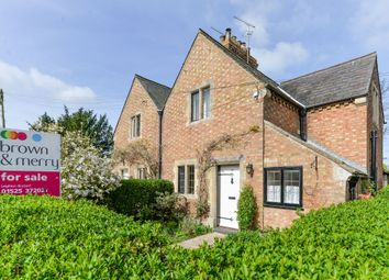 Thumbnail 3 bed semi-detached house for sale in The Green, Mentmore, Leighton Buzzard