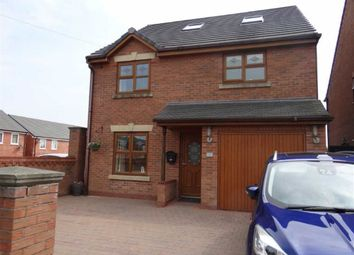 Thumbnail 5 bed detached house for sale in Westleigh Lane, Leigh, Lancashire
