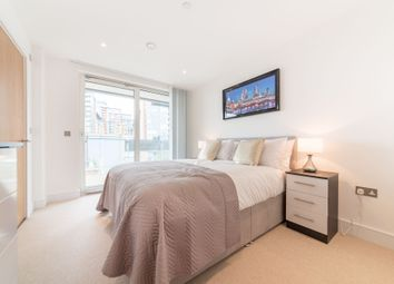 Thumbnail 3 bed flat to rent in Gateway Tower, 28 Western Gateway, Royal Victoria, London