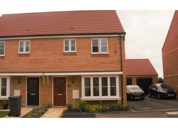Thumbnail 3 bed semi-detached house for sale in Vestry Close, Peterborough
