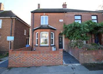 Thumbnail 2 bed semi-detached house to rent in Sherborne Road, Farnborough, Hampshire