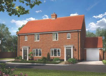 Thumbnail 3 bed detached house for sale in Brook Street, Glemsford, Sudbury, Suffolk