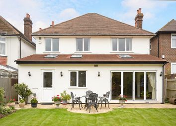 Thumbnail 5 bed detached house to rent in Manor Road, Cheam, Sutton