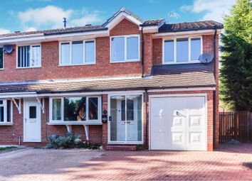 Thumbnail 4 bed end terrace house for sale in Bilbury Close, Redditch
