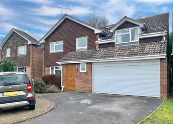 Thumbnail 5 bed detached house for sale in Hunt Close, South Wonston, Winchester