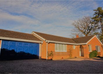 Thumbnail 3 bed detached bungalow for sale in Preston Gubbals Road, Shrewsbury