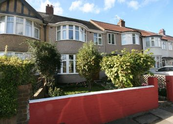 Thumbnail 3 bed terraced house for sale in Eastcote Avenue, Wembley