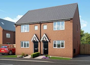 """Thumbnail 3 bed property for sale in """"The Hexham At Kingswood"""" at Spring Close, Kinsley, Pontefract"""