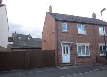 Thumbnail 3 bed semi-detached house to rent in Bell Chase, Yeovil