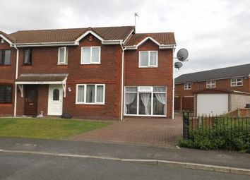Thumbnail 4 bedroom semi-detached house to rent in Neapsands Close, Fulwood, Preston