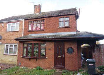 Thumbnail 3 bed semi-detached house for sale in Figtree Walk, Dogsthorpe, Peterborough