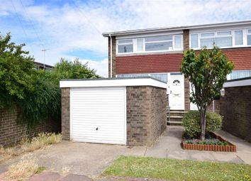 Thumbnail 2 bed end terrace house for sale in Radnor Close, Worthing, West Sussex