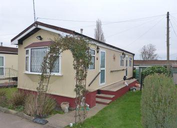 Thumbnail 1 bedroom mobile/park home for sale in Bryant Row, Cummings Hall Lane, Romford