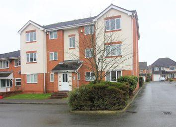 Thumbnail 2 bedroom flat for sale in Aspen Close, Measham, Swadlincote