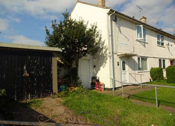 Thumbnail 2 bed semi-detached house for sale in Tolcarne Road, Thurnby Lodge, Leicester