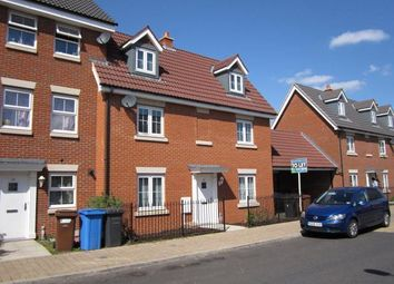 Thumbnail 4 bed town house for sale in Bull Road, Ipswich
