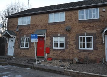 Thumbnail 2 bed terraced house to rent in Shunters Drift, Barlborough, Derbyshire