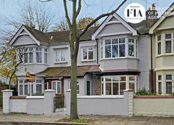 Thumbnail 3 bed terraced house to rent in Netheravon Road, London