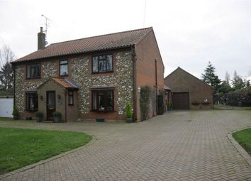 Thumbnail 4 bed detached house for sale in Oxborough Road, Boughton, King's Lynn