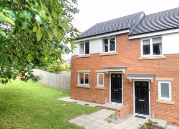 Thumbnail 3 bed property for sale in Vallum Place, Throckley, Newcastle Upon Tyne