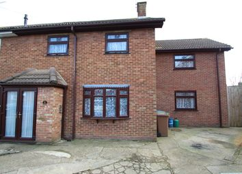Thumbnail 3 bed terraced house for sale in Parnell Close, Ipswich