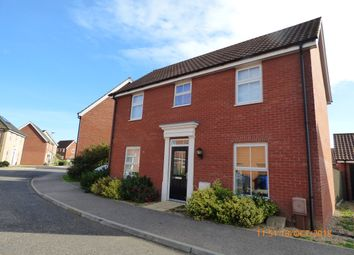 Thumbnail 3 bed detached house to rent in Ullswater, Carlton Colville, Lowestoft