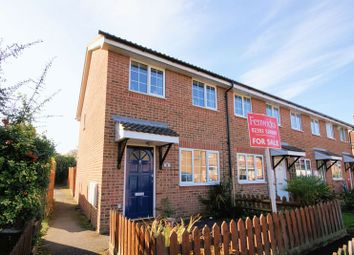 Thumbnail 2 bed end terrace house for sale in Sunbeam Way, Gosport
