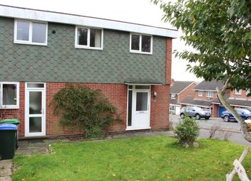 Thumbnail 3 bedroom end terrace house for sale in Ambury Way, Great Barr, Birmingham.