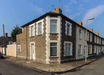 Thumbnail 2 bed end terrace house for sale in Florentia Street, Roath, Cardiff