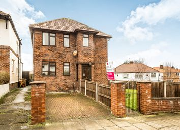 Thumbnail 3 bed detached house for sale in Jubilee Drive, West Kirby, Wirral