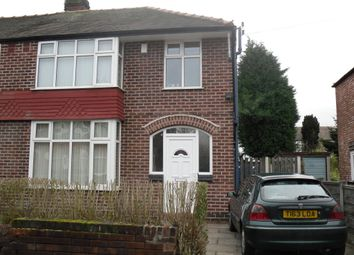 Thumbnail 4 bed semi-detached house to rent in Alverstone Road, Withington