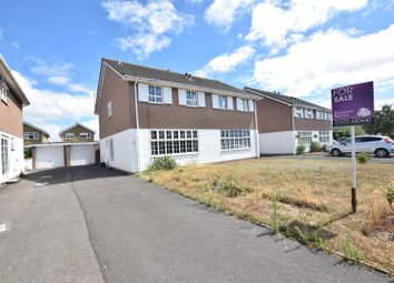 Thumbnail 3 bed semi-detached house for sale in Norfolk Road, Portishead, Bristol