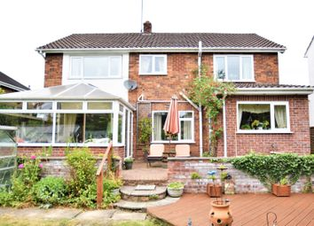 Thumbnail 4 bed detached house for sale in Vicarage Fields, Wrexham