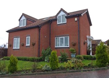 Thumbnail 4 bedroom detached house for sale in Hillside Close, Blackhall Colliery, Hartlepool