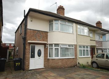 Thumbnail 3 bed end terrace house for sale in Mowbray Gardens, Ealing Road, Northolt