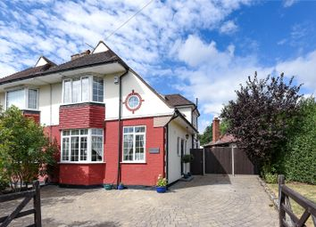 Thumbnail 3 bed semi-detached house for sale in Herlwyn Avenue, Ruislip, Middlesex