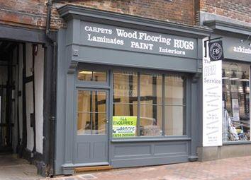 Thumbnail Retail premises to let in 33 High Street, Sittingbourne, Kent