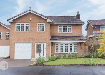 Thumbnail 4 bed detached house for sale in Higher Dunscar, Egerton, Bolton