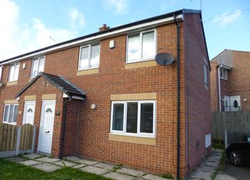 Thumbnail 2 bed semi-detached house to rent in Monkwood Road, Rawmarsh
