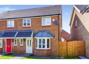 Thumbnail 3 bed semi-detached house for sale in Copper Beech Drive, Tredegar